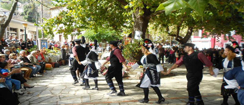 Σκήτη Λάρισας: Όταν γιορτάζουν τα κάστανα...