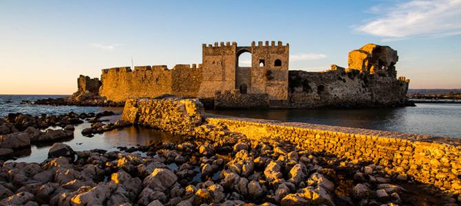 Κάστρο Μεθώνης: Από τις σημαντικότερες μεσαιωνικές οχυρώσεις στην Ελλάδα