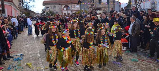 Το καρναβάλι στο Ξινό Νερό